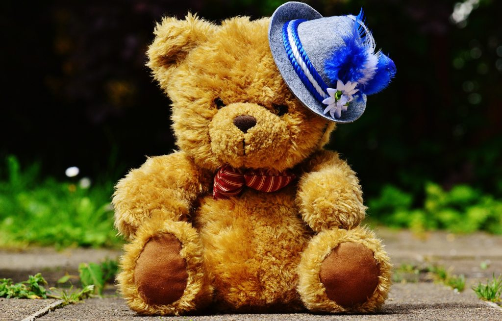 The bear, the symbol of love in Europe